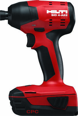 HOT SALE!!! HILTI SID 4-A22 cordless 22V impact driver Li-ion Battery (ToolOnly)