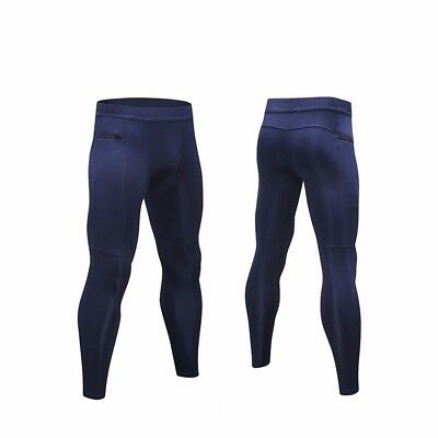 Men Skin Tights Compression Pants Sport Trousers Base Layer Running Well A209