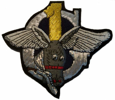 1st Air Commando, 319th Troop Carrier Squadron - WW2 Bullion military patch