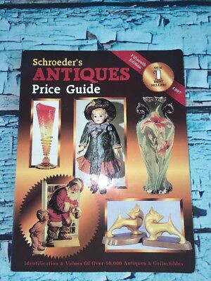 1997 SCHROEDERS ANTIQUES Price Guide Paperback Book 15th Edition
