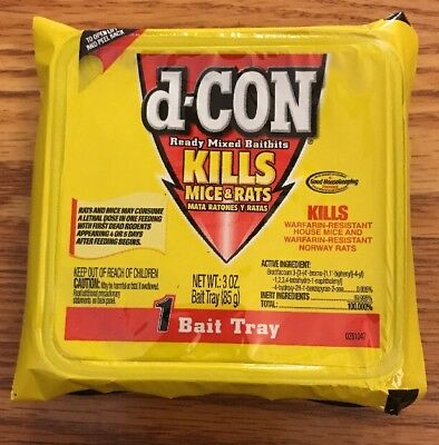 D Con Mouse Poison >> Rodent & Animal Traps, Weed & Pest Control, Gardening Supplies, Yard, Garden & Outdoor Living ...