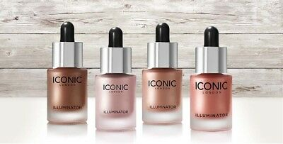 Iconic London Illuminator Drops Face Liquid Highlighter 13.5ml EU Stock