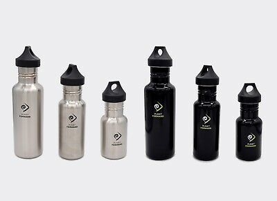 2-SET STAINLESS STEEL WATER BOTTLES Quench 26oz Cycling Hiking Sport Stylish NEW