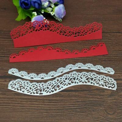 Floral Borderlines Metal Cutting Dies Stencils for DIY Scrapbooking/photo album