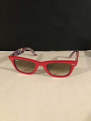 cf783c927d8 Ray-Ban RB2140 WAYFARER 1051 51 SPECIAL VERY RARE RED
