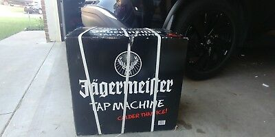Jagermeister 3 Bottle Tap Machine Model JEMUS BAR SALOON MAN CAVE PARTY NEW!