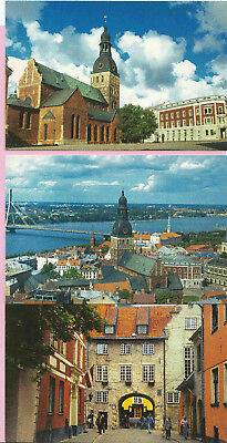 p362 | Latvia, 6 views of Riga (different from p366), pristine mint
