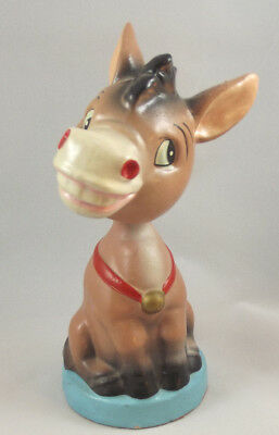 Vintage Donkey Plastic Bobble Head Wobbler Nodder Made in Japan Disney?