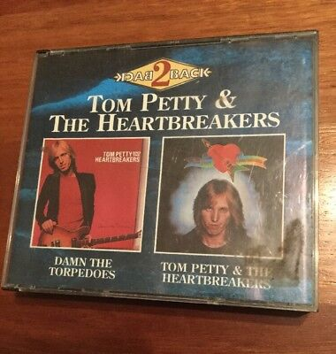 Tom Petty & The Heartbreakers 2 Album CD Fatbox Damn The Torpedoes Very Rare