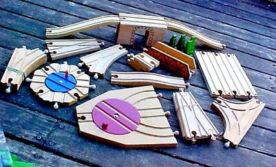 Thomas & Friends Wooden Train Track Switches,bridge,specialty Pieces-Choose