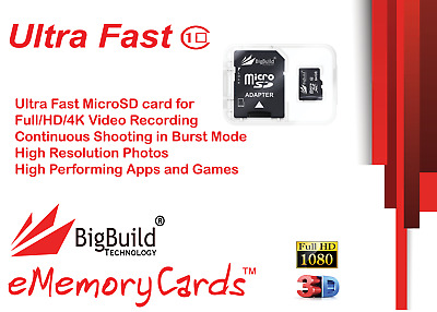 32GB Memory card for Huawei P8 MAX MobileClass 10 80MB//s microSD SDHC New UK