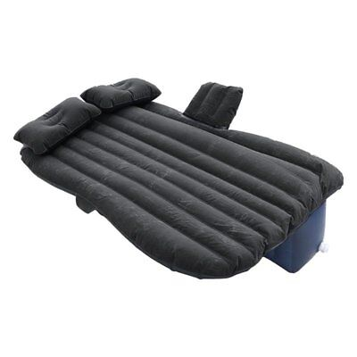 Inflatable Mattress for Car is made of high quality PVC + Flocking black U9K1