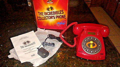 Disney-Pixar's The Incredibles SBC Collector's Full Size Fleece & Red Telephone