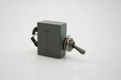 Airpax Circuit Breaker  Switch Toggle DC 2A Trip 50V MAX Delay 51 - Waterproof