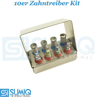 10er Dental Implant Dental Treiber Kit chirurgische Implantat Werkzeuge Sumiq CE