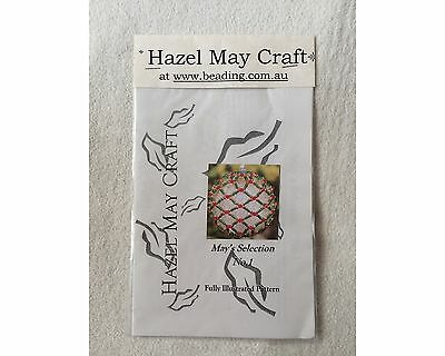 Hazel May Craft – Bead Cover for Acrylic Ball PATTERN
