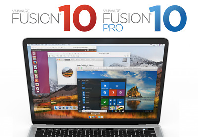VMWare Fusion 10 Pro for MAC Lifetime License⭐Download Link⭐