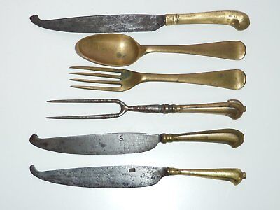 Messer und Gabeln,17.Jh./18.Jh,knives and forks 17th/18th,couvert 17 eme/18 eme