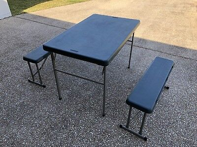 Lifetime Camping Table And Chairs