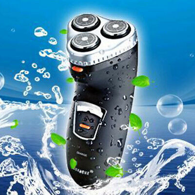Mens Electric Shaver Wet Dry 3 heads Rechargeable Waterproof Men Shave Face