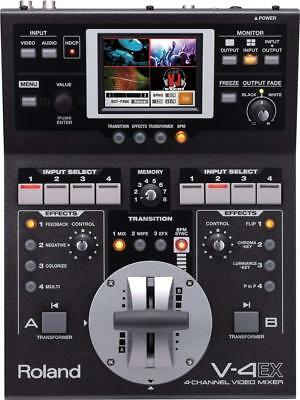 Roland 4 Channel Video Mixer V-4 EX Touch Control FREE shipping Worldwide