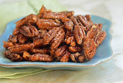 NEW Honey Glazed Pecans 100% All Natural Roasted Candied Pecans FRESH! 500gr
