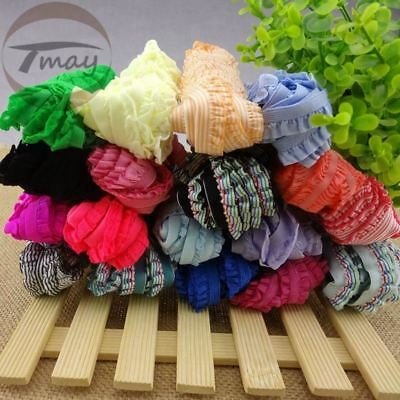 26colors 4yards/lot Lace Trim 10-20MM Wide Stretch Lace Ribbon Riband Tape Hair