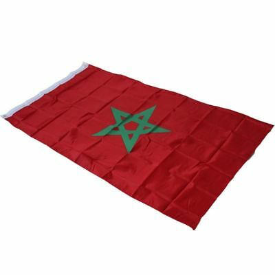 3X5 MOROCCO FLAG 3'X5' 3FT X 5FT MOROCCAN national flag banner flying style for