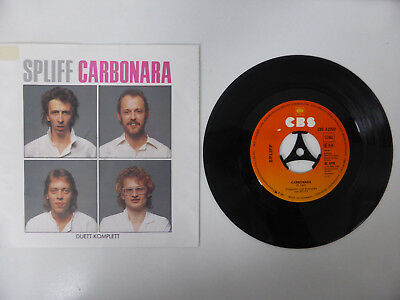 "Spliff, Carbonara/ Duett Komplett, 7"" Single, GER 1982"