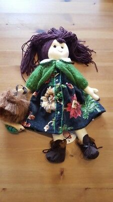 NWT RARE April Cornell Chanti Chant Cornelloki 12 inch Cloth Doll