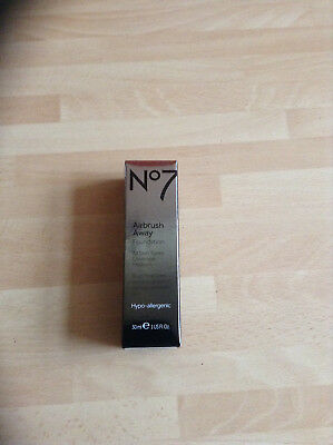 no7 airbrush away foundation 30ml deeply beige