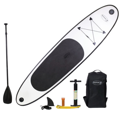 Blue Water 10 Foot Inflatable Stand Up Paddle Board With SUP Set (SAVE $60!!!)