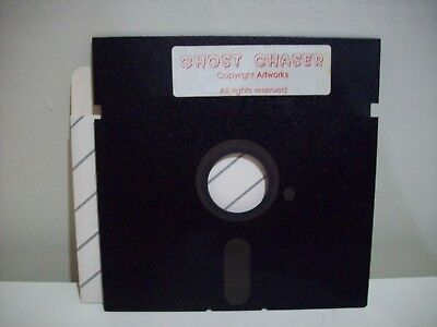 Ghost Chaser-  Commodore 64  /128 Game Floppy Disc Vintage Collectable