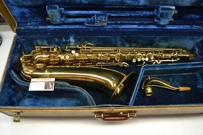 Tenor saxophone Conn 10M 'ladyface' : VERY SPECIAL !!!