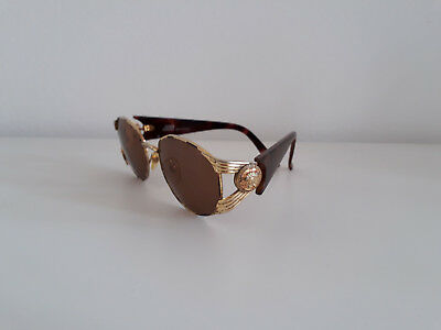 Versace S64 sonnenbrille vintage sunglasses italy gianni rihanna