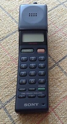 Vintage Collectable Sony CM-H333 Vintage Mobile Phone (Boxed). Small Brick.