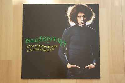 LP/VINYL Album 1974 Luna Music Roma  Angelo Branduardi ‎– English Version Of 1st