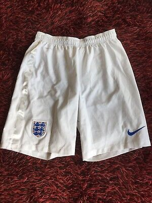 England World Cup 2014 Nike white shorts men's medium - good condition