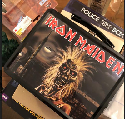 Iron Maiden Lunchbox with thermos. UNUSED!