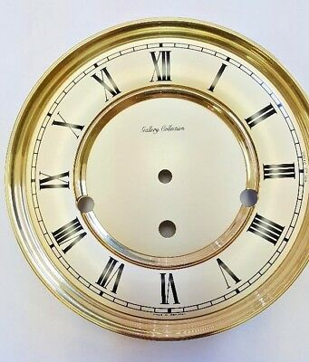 Hermle-Westminster wall clock dial for 351-1051 movement 180mm diameter of white