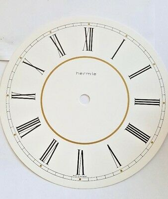 Hermle-Westminster wall clock dial for  Quartz movement 180 mm