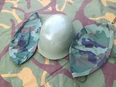 Serbian Army M59 Helme With MD Straps