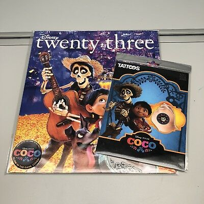 Disney Twenty-Three magazine COCO 2017-NEW/sealed (incl. Coco stickers)