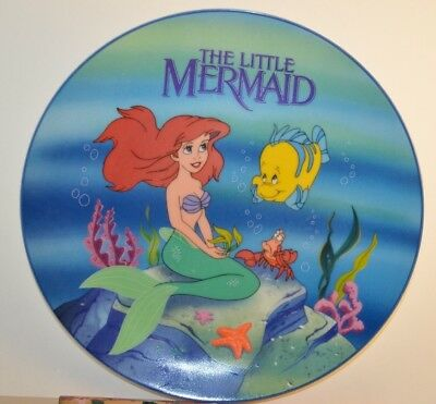Vintage 1989 Disney The Little Mermaid Collectible Plate LTD ED To 10,000 Pieces