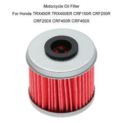 Oil Filter For Honda  TRX450R TRX450ER CRF150R CRF250R Motorcycle Motocross X4L8