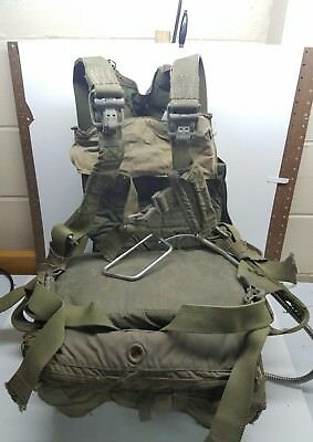 AMAZING Vintage 1951 US Navy Rip Switlik Seat Parachute and  Steinthall Harness