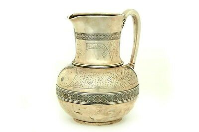 Tiffany & Co. Sterling Silver Water Pitcher, 19th Century