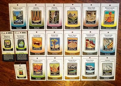 Lot COLLECTABLE National Park Patches - High Quality Grand Canyon Yosemite etc