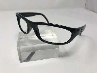 ec573dc368 Ray Ban Rb4033 601 3N Stunning Glossy shiny Black Wrap Sunglasses Frames