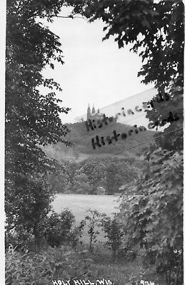 RP Holy Hill Wisconsin WI View Through Trees